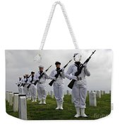 Members Of A Ceremonial Honor Guard Weekender Tote Bag