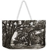 Memory Lane Monochrome Weekender Tote Bag by Steve Harrington