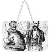 Men Drinking, 1872 Weekender Tote Bag
