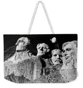 Men Working On Mt. Rushmore Weekender Tote Bag