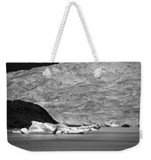 Mendenhall Glacier Bw Weekender Tote Bag