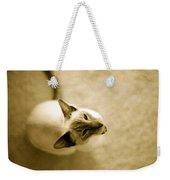 Meow Weekender Tote Bag