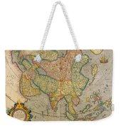 Mercators Map Of Asia Weekender Tote Bag