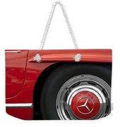 Mercedes Wheel Weekender Tote Bag
