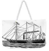 Merchant Steamship, 1838 Weekender Tote Bag