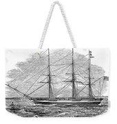 Merchant Steamship, 1844 Weekender Tote Bag