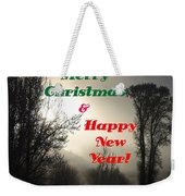 Merry Christmas And Happy New Year 2 Weekender Tote Bag