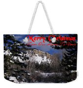 Merry Christmas From Our Home To Yours Weekender Tote Bag