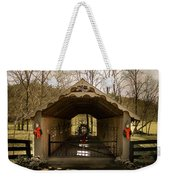 Merry Christmas From Tennessee Weekender Tote Bag