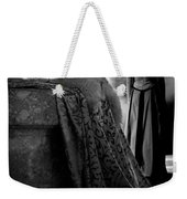 Merry Meet Black And White Weekender Tote Bag by Jasna Buncic