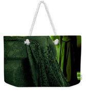 Merry Meet Green Weekender Tote Bag by Jasna Buncic