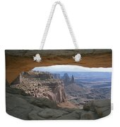 Mesa Arch In Utahs Canyonlands National Weekender Tote Bag