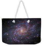 Messier 33, Spiral Galaxy In Triangulum Weekender Tote Bag by Robert Gendler