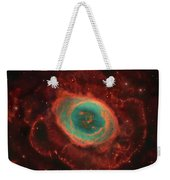 Messier 57, The Ring Nebula Weekender Tote Bag