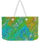 Messy Thick Paint Weekender Tote Bag