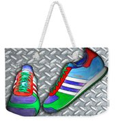 Metal Grate Sport Shoe Weekender Tote Bag