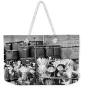 Metal Gear Palm Springs Weekender Tote Bag