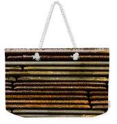Metal Stripe  Weekender Tote Bag