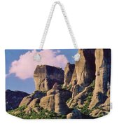 Meteora Greece Weekender Tote Bag