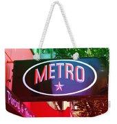 Metro Star Weekender Tote Bag