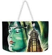 Metropolis Poster Weekender Tote Bag