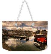 Mevagissy Harbour Weekender Tote Bag