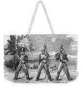 Mexican American War, 1846 Weekender Tote Bag