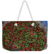 Mexican Peppers At An Open Air Market Weekender Tote Bag