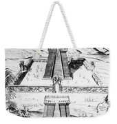 Mexico: Aztec Temple, 1765 Weekender Tote Bag by Granger