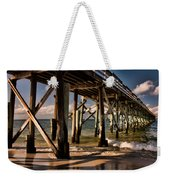 Mexico Beach Pier Weekender Tote Bag