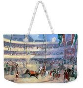 Mexico: Bullfight, 1833 Weekender Tote Bag