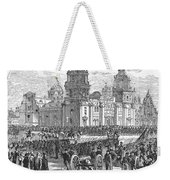 Mexico City, 1847 Weekender Tote Bag by Granger