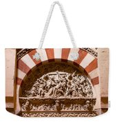 Mezquita Cathedral Religious Carving Weekender Tote Bag