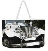 Mg Classic Car Weekender Tote Bag