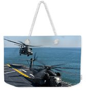 Mh-53e Sea Dragon Helicopters Take Weekender Tote Bag