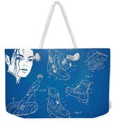 Michael Jackson Anti-gravity Shoe Patent Artwork Weekender Tote Bag by Nikki Marie Smith