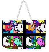 Mickey In Colors Weekender Tote Bag