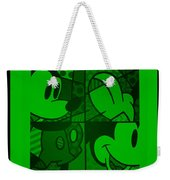 Mickey In Green Weekender Tote Bag