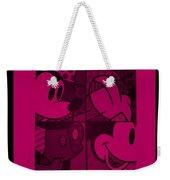 Mickey In Hot Pink Weekender Tote Bag