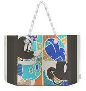 Mickey In Negative Weekender Tote Bag