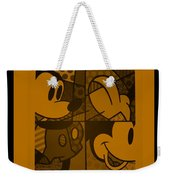 Mickey In Orange Weekender Tote Bag