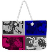 Mickey In Quad Colors Weekender Tote Bag