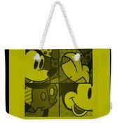 Mickey In Yellow Weekender Tote Bag
