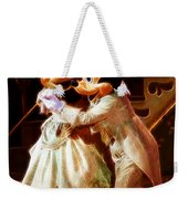 Micky And Minnie Mouse Skate Weekender Tote Bag