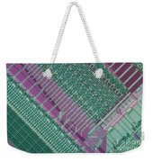 Micrograph Of Chip Weekender Tote Bag