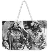 Mid-air Refueling Aviators At Rockwell Weekender Tote Bag