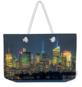 Mid-town Manhattan Twilight I Weekender Tote Bag