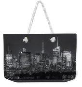 Mid-town Manhattan Twilight II Weekender Tote Bag