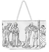 Middle Ages: Knighting Weekender Tote Bag