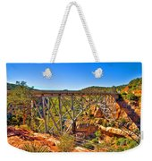 Midgley Bridge Sedona Arizona Weekender Tote Bag